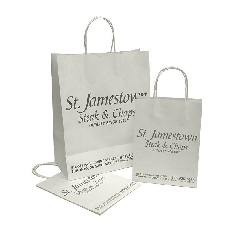 Classic White Kraft Paper Bag KPB-102