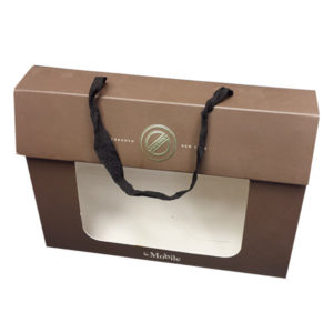 Gustom Gift Box with Ribbon Handle CPB-112