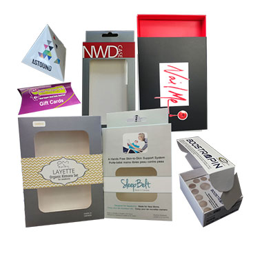 Consumer Products Boxes
