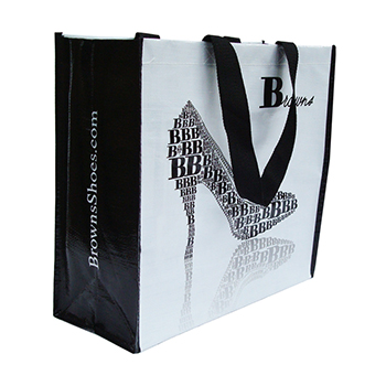 Classic Laminated Woven Shopping Bag LWB-101