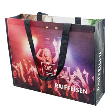 Fashion Laminated Woven Shopping Bag LWB - 104