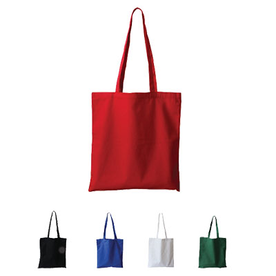 Budget Promotional Canvas Tote Bag - Colours NCB-101-C