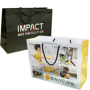 Full Coverage Printed Laminated Shopping Bag LPB-103