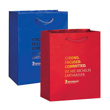 Foil Hot Stamped Laminated Shopping Bag LPB-104