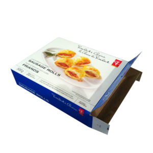 Frozen Food Packaging Box FBB-111