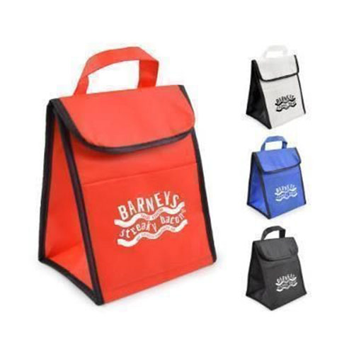 Nonwoven Insulated Cooler Lunch Bag with Velcro Closure TB-101