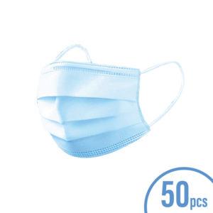 50PCS Disposable 3 Ply Civil Masks (non-medical)
