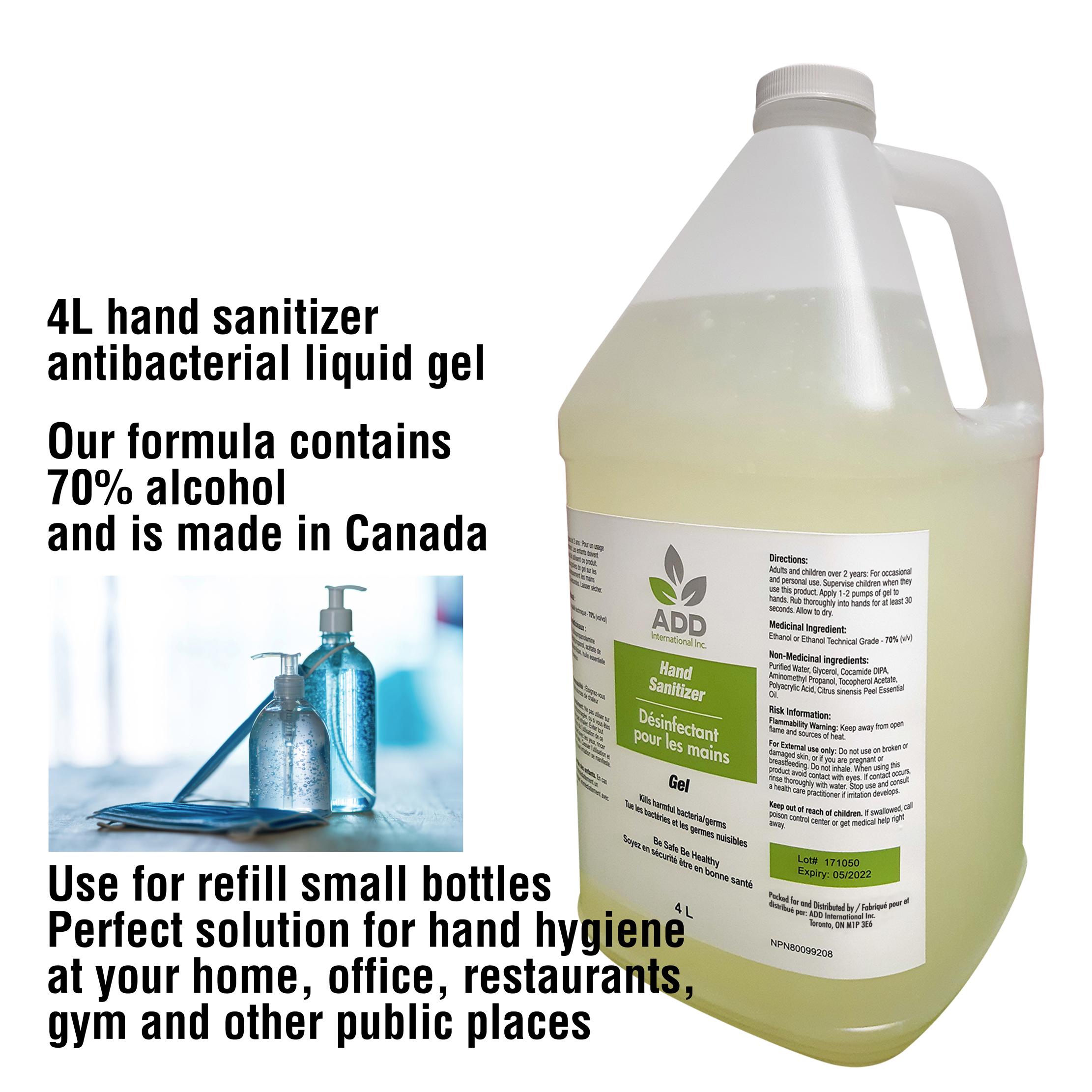 70% 4L Hand-Sanitizer